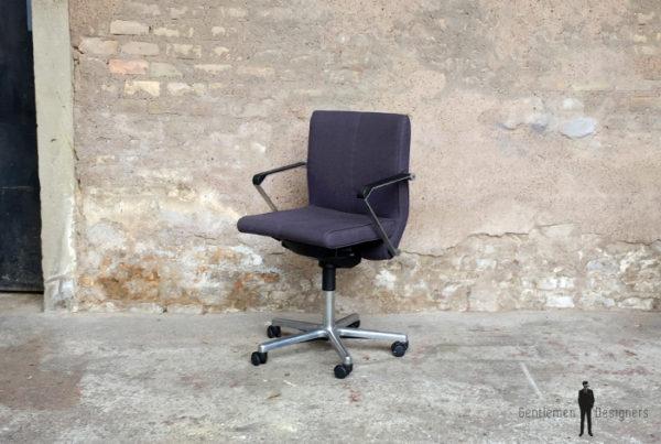 Lot de 12 fauteuils de bureau,conference Artifort, vintage accoudoir tissu metal eames
