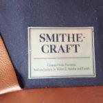 Canapé vintage 3 places, cuir brun, caramel gentlemen designers chesterfield