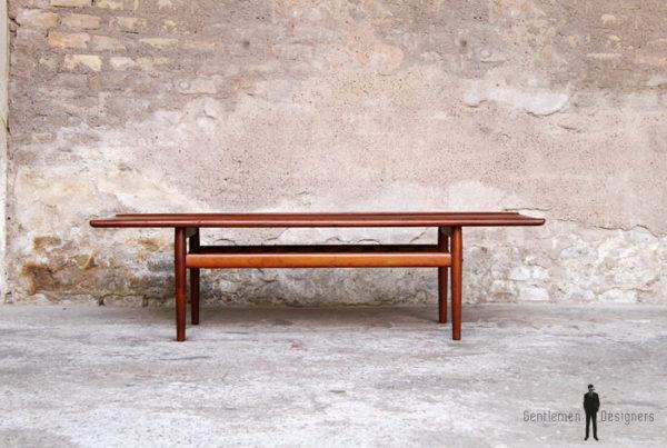 Table basse danoise scandinave en teck, Grete Jalk, Glostrup