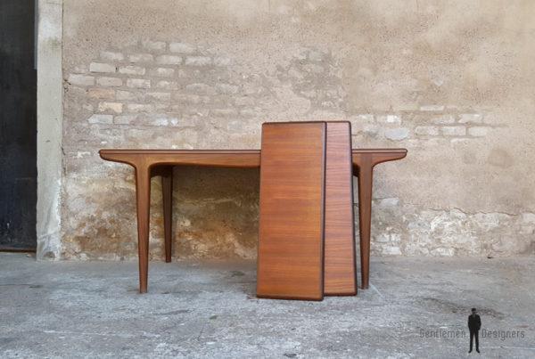 Table à rallonges scandinave en teck, Andersen, Danemark gentlemen designers extensible bon état