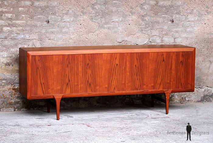 enfilade scandinave vintage en teck ann es 60 danemark. Black Bedroom Furniture Sets. Home Design Ideas
