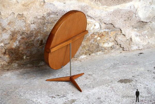 Miroir pivotant scandinave années 60, design Luxus, Kristiansson gentlemen designers