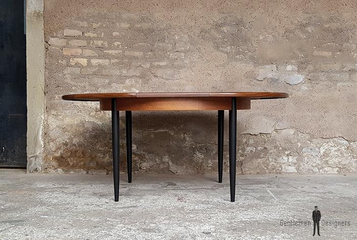 table_manger_ronde_pieds_noir_teck_vintage_unique_original_gentlemen_designers_strasbourg_paris_alsace_handschuheim_bas-rhin_france-(1)
