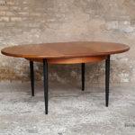table_manger_ronde_pieds_noir_teck_vintage_unique_original_gentlemen_designers_strasbourg_paris_alsace_handschuheim_bas-rhin_france-(7)
