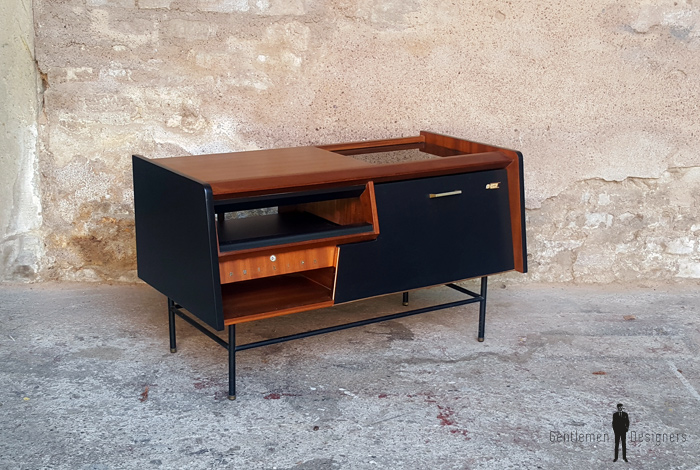 meuble vintage teck radio dtourn philips annes 70 gentlemen designers - Meubles Vintage Paris