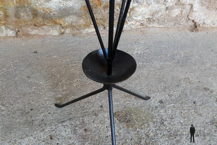 Porte parapluie vintage en métal années 60