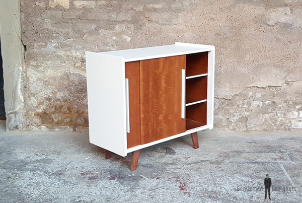 Meuble_2_portes_blanc_noyer_pied_compas_vintage_unique_original_gentlemen_designers_strasbourg_paris_alsace_handschuheim_bas-rhin_france-(9)