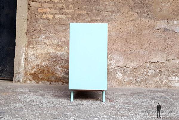 Meuble_graphique_vert_turquoise_pied_compas_vintage_unique_original_gentlemen_designers_strasbourg_paris_alsace_handschuheim_bas-rhin_france-(7)