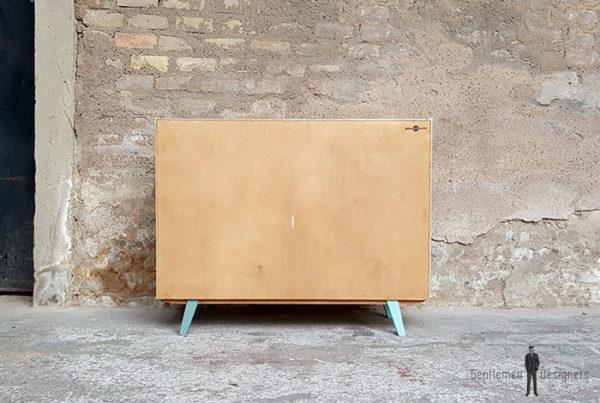 Meuble_graphique_vert_turquoise_pied_compas_vintage_unique_original_gentlemen_designers_strasbourg_paris_alsace_handschuheim_bas-rhin_france-(8)