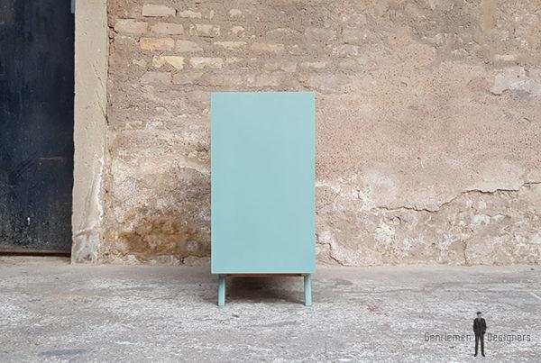 Meuble_graphique_vert_turquoise_pied_compas_vintage_unique_original_gentlemen_designers_strasbourg_paris_alsace_handschuheim_bas-rhin_france-(9)