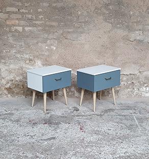 Paire_chevet_gris_clair_anthracite_pied_chene_vintage_tiroir_gentlemen_designers_strasbourg_alsace_paris_vignette