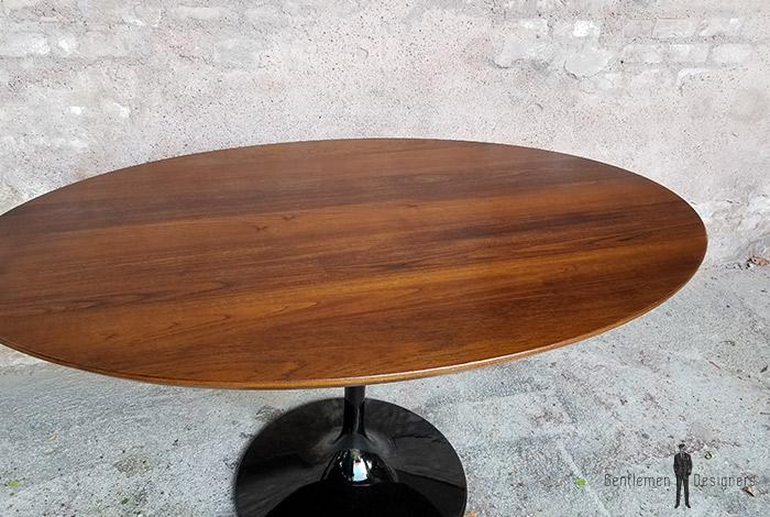 Table_teck_massif_birmanie_ovale_pied_noir_tulipe_sur_mesure_vintage_unique_original_gentlemen_designers_strasbourg_paris_alsace_handschuheim_bas-rhin_france-(1)