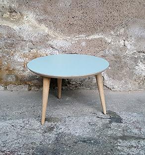 table_basse_ronde_bleu_ciel_vintage_unique_original_gentlemen_designers_strasbourg_paris_alsace_handschuheim_bas-rhin_france-vignette