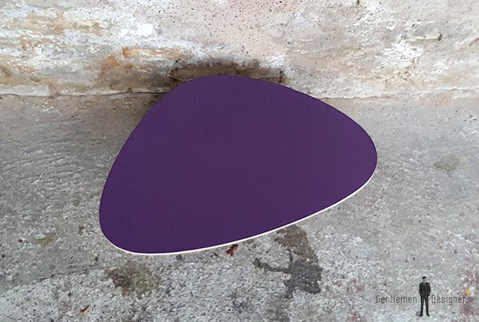 table_basse_tripode_violet_vintage_unique_original_gentlemen_designers_strasbourg_paris_alsace_handschuheim_bas-rhin_france