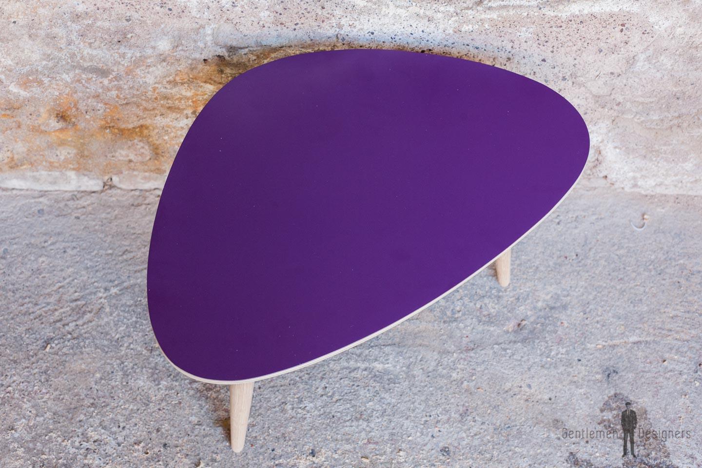 Table basse violet 60x40 produit d exposition - Destockage table basse ...