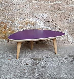 table_basse_tripode_violet_vintage_unique_original_gentlemen_designers_strasbourg_paris_alsace_handschuheim_bas-rhin_france-vignette