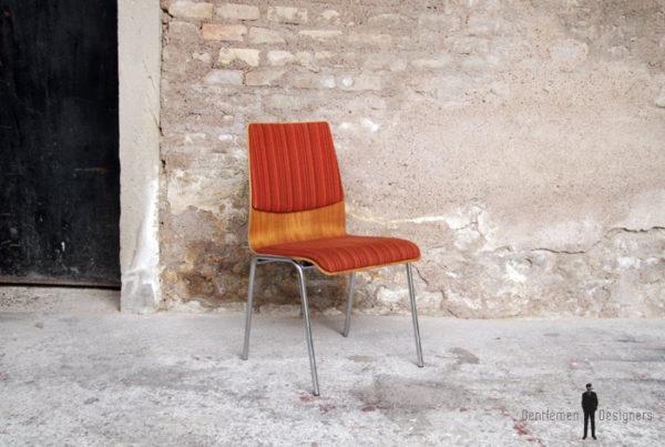 Chaise_bois_tissu_scandinave_jacobsen_esprit_mobilier_vintage_design_annee_50_60_original_gentlemen_designers_strasbourg_alsace_paris_lyon_01