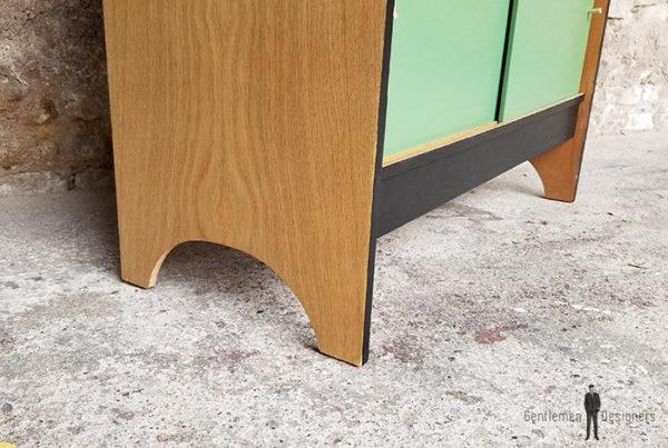 buffet_chene_vert_kaki_noir_tiroirs_portes_verre_sur_mesure_vintage_unique_original_gentlemen_designers_strasbourg_paris_alsace_handschuheim_bas-rhin_france-(10)