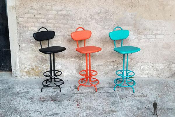 chaise_haute_monochrome_noir_rouge_vert_sur_mesure_vintage_unique_original_gentlemen_designers_strasbourg_paris_alsace_handschuheim_bas-rhin_france-(6)