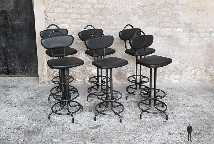 chaise_haute_monochrome_noir_rouge_vert_sur_mesure_vintage_unique_original_gentlemen_designers_strasbourg_paris_alsace_handschuheim_bas-rhin_france-(7)