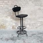 chaise_haute_monochrome_noir_rouge_vert_sur_mesure_vintage_unique_original_gentlemen_designers_strasbourg_paris_alsace_handschuheim_bas-rhin_france-(9)