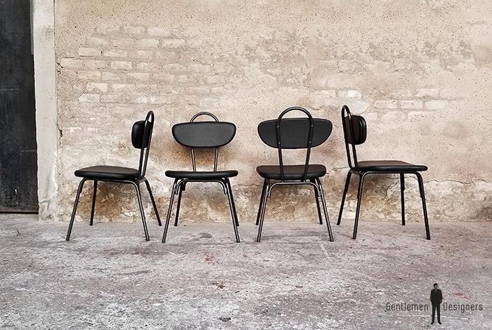 chaise_noir_rouge_vert_monochrome_sur_mesure_vintage_unique_original_gentlemen_designers_strasbourg_paris_alsace_handschuheim_bas-rhin_france-(12)