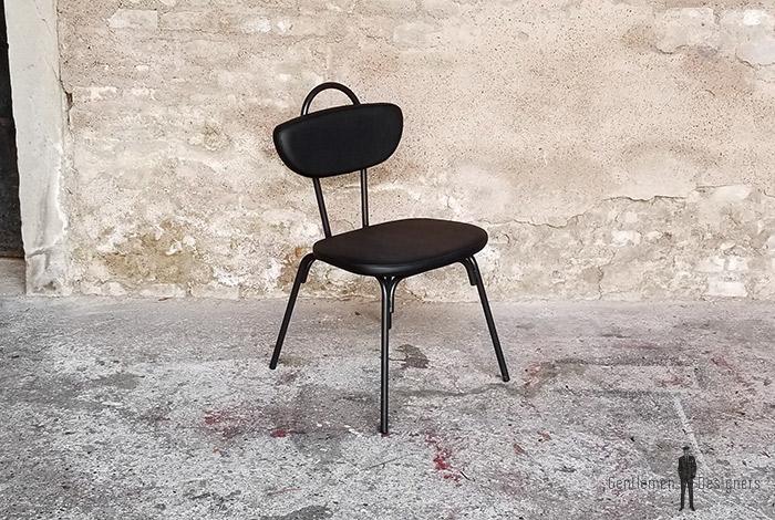 chaise_noir_rouge_vert_monochrome_sur_mesure_vintage_unique_original_gentlemen_designers_strasbourg_paris_alsace_handschuheim_bas-rhin_france-(13)