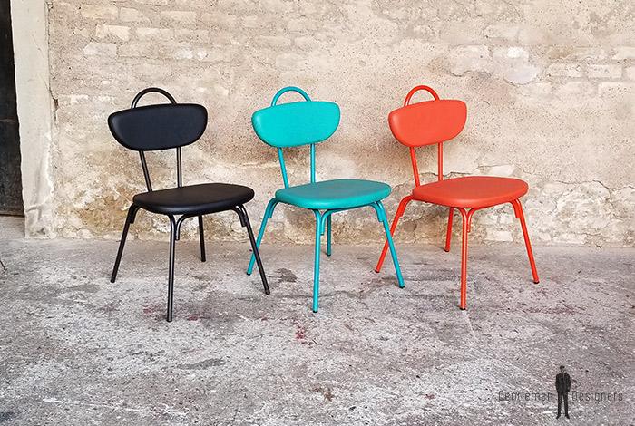 chaise_noir_rouge_vert_monochrome_sur_mesure_vintage_unique_original_gentlemen_designers_strasbourg_paris_alsace_handschuheim_bas-rhin_france-(14)