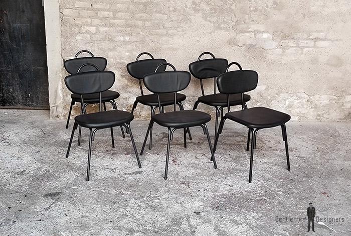 chaise_noir_rouge_vert_monochrome_sur_mesure_vintage_unique_original_gentlemen_designers_strasbourg_paris_alsace_handschuheim_bas-rhin_france-(17)