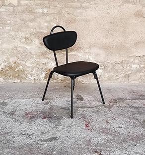 chaise_noir_rouge_vert_monochrome_sur_mesure_vintage_unique_original_gentlemen_designers_strasbourg_paris_alsace_handschuheim_bas-rhin_france-noir_vignette