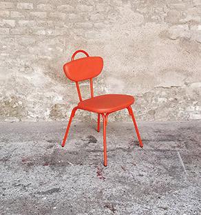 chaise_noir_rouge_vert_monochrome_sur_mesure_vintage_unique_original_gentlemen_designers_strasbourg_paris_alsace_handschuheim_bas-rhin_france-rouge_vignette