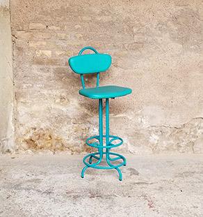 chaise_vert_tabouret_bar_monochrome_metal_sky_sur_mesure_vintage_unique_original_gentlemen_designers_strasbourg_paris_alsace_handschuheim_bas-rhin_france_vignette