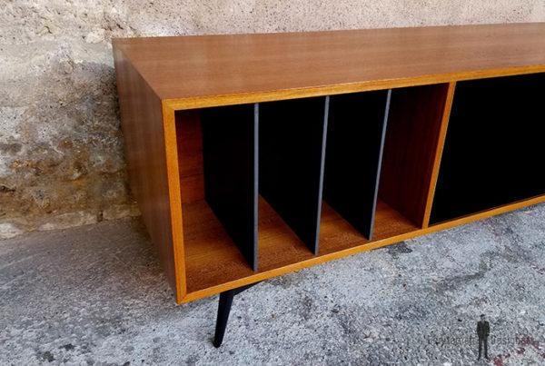 meuble_tv_teck_vert_valcromat_noir_vinyle_sur_mesure_vintage_unique_original_gentlemen_designers_strasbourg_paris_alsace_handschuheim_bas-rhin_france-(4)
