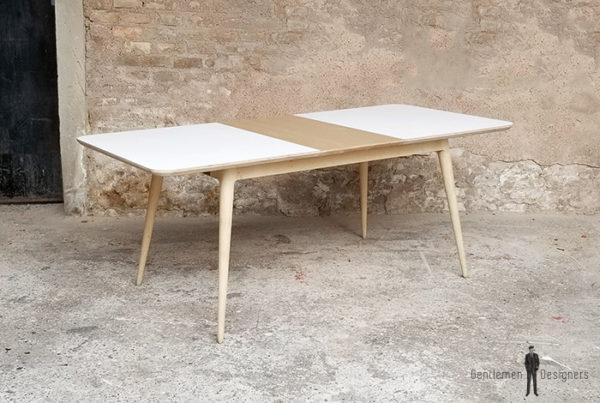 table_a_manger_rallonges_stratifiee_blanc_centrale_plaque_chene_sur_mesure_vintage_unique_original_gentlemen_designers_strasbourg_paris_alsace_handschuheim_bas-rhin_france-(11)