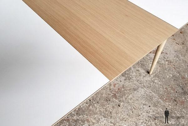 table_a_manger_rallonges_stratifiee_blanc_centrale_plaque_chene_sur_mesure_vintage_unique_original_gentlemen_designers_strasbourg_paris_alsace_handschuheim_bas-rhin_france-(13)