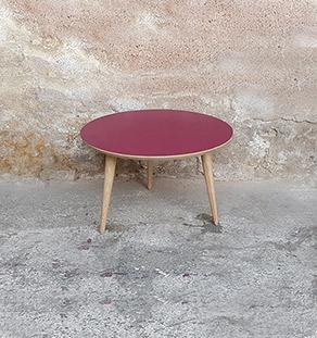 table_basse_ronde_orange_vintage_unique_original_gentlemen_designers_strasbourg_paris_alsace_handschuheim_bas-rhin_france-vignette