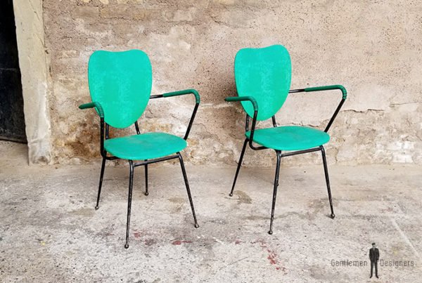 2_chaises_vert_pieds_metal_sur_mesure_vintage_unique_original_gentlemen_designers_strasbourg_paris_alsace_handschuheim_bas-rhin_france-(1)