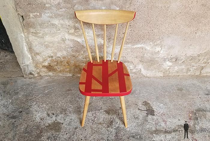 chaise_bureau_rouge_motif_graphique_barreaux_sur_mesure_vintage_unique_original_gentlemen_designers_strasbourg_paris_alsace_handschuheim_bas-rhin_france-(4)