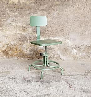 chaise_metal_industrielle_reglable_acier_vert_sur_mesure_vintage_unique_original_gentlemen_designers_strasbourg_paris_alsace_handschuheim_bas-rhin_france-vignette