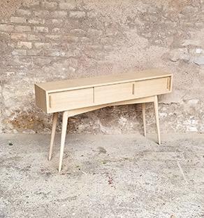 console_entree_chene_scandinave_porte_coullissante_sur_mesure_vintage_unique_original_gentlemen_designers_strasbourg_paris_alsace_handschuheim_bas-rhin_france-vignette