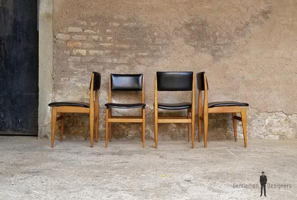 lot_4_chaises_skai_noir_chene_sur_mesure_vintage_unique_original_gentlemen_designers_strasbourg_paris_alsace_handschuheim_bas-rhin_france-(4)