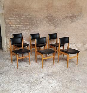 lot_4_chaises_skai_noir_chene_sur_mesure_vintage_unique_original_gentlemen_designers_strasbourg_paris_alsace_handschuheim_bas-rhin_france-vignette