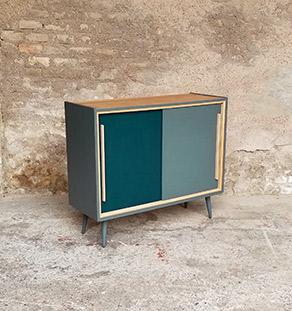 meuble_appoint_gris_vert_2_portes_sur_mesure_vintage_unique_original_gentlemen_designers_strasbourg_paris_alsace_handschuheim_bas-rhin_france-vignette