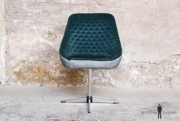 Fauteuil_tissus_vert_gris_texture_volume_pieds_metal_sur_mesure_vintage_unique_original_gentlemen_designers_strasbourg_paris_alsace_handschuheim_bas-rhin_france-(1)
