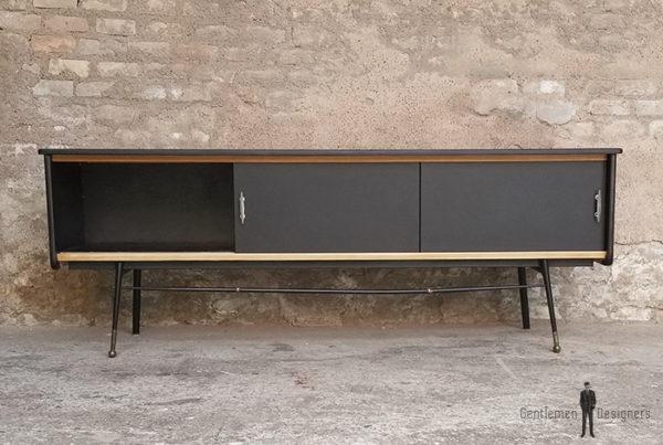 Grand_meuble_tv_noir_tiroirs_degrade_gris_pied_metal_sur_mesure_vintage_unique_original_gentlemen_designers_strasbourg_paris_alsace_handschuheim_bas-rhin_france-(2)