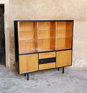 buffet_noir_porte_verre_etagere_verre_chene_sur_mesure_vintage_unique_original_gentlemen_designers_strasbourg_paris_alsace_handschuheim_bas-rhin_france-vignette