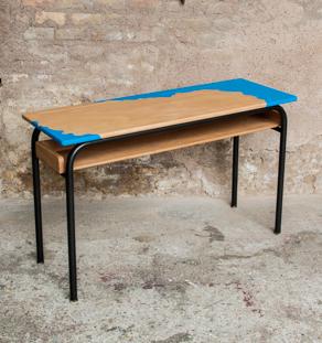 bureau_ecole_metal_chene_vintage_graphique_bleu_ocean_sur_mesure_vintage_unique_original_gentlemen_designers_strasbourg_paris_alsace_handschuheim_bas-rhin_france-vignette