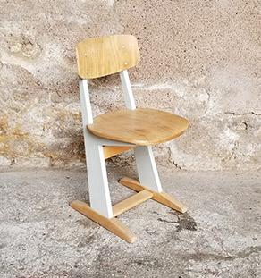 chaise_casala_enfant_gris_sur_mesure_vintage_unique_original_gentlemen_designers_strasbourg_paris_alsace_handschuheim_bas-rhin_france_vignette