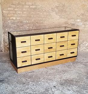 meuble-metier_multi_tiroirs_chene_noir_sur_mesure_vintage_unique_original_gentlemen_designers_strasbourg_paris_alsace_handschuheim_bas-rhin_france-vignette