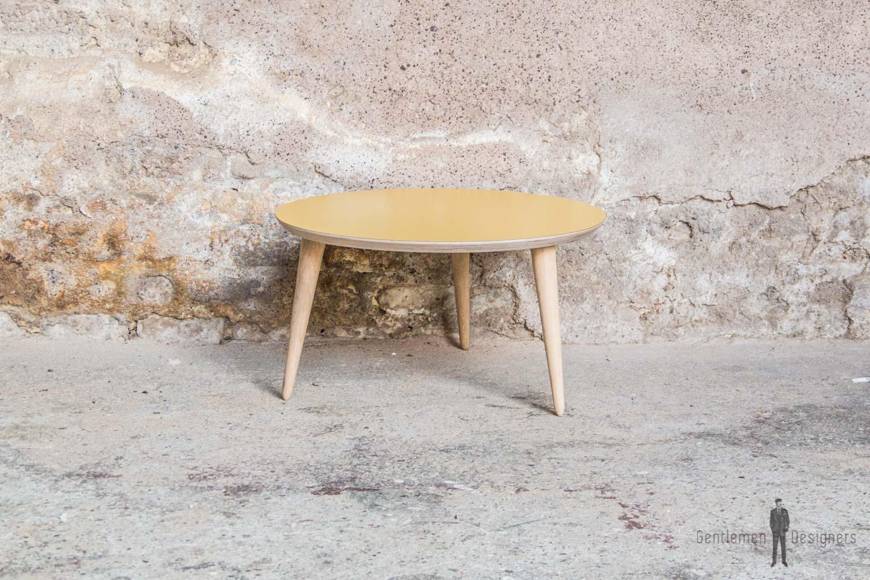 table_basse_ronde_jaune_stratifie_sur_mesure_vintage_unique_original_gentlemen_designers_strasbourg_paris_alsace_handschuheim_bas-rhin_france (1)